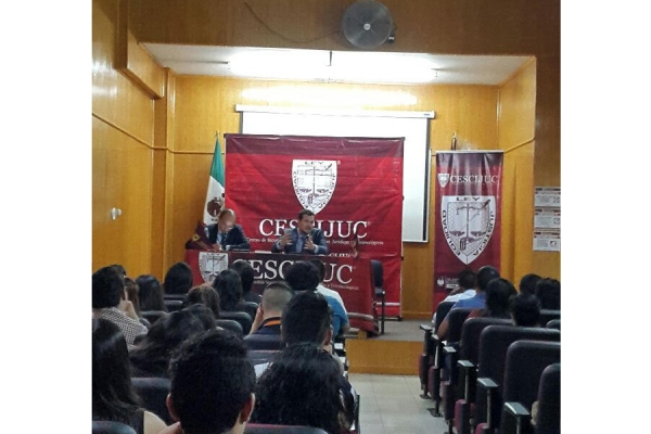 The office Bardavío Abogados lectures in Mexico